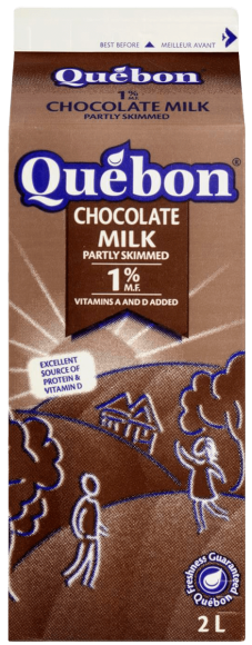 Québon 1% Chocolate Milk