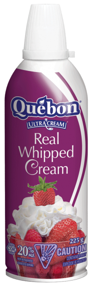 Québon 20% Whipped Cream (Aerosol)