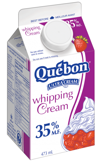 Québon 35% Whipped Cream