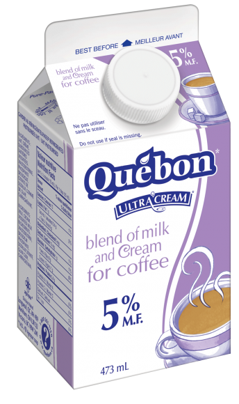 Québon 5% Cream & Milk Blend for Coffee