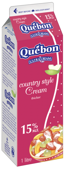 Québon Country Style 15% Cream 1 L