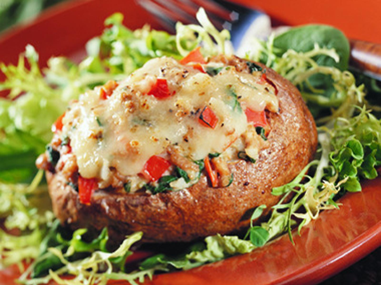 Stuffed Homegrown Potatoes
